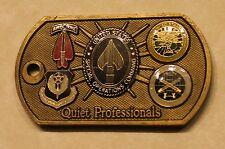 US Special Operations Command Gen Peter J Schoomaker Army Challenge Coin   V2