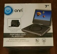 NEW Onn Portable DVD Player Kit 7