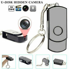 Mini USB Flash Drive Pinhole Camera U Disk HD DVR Video Recorder Keychain 960p