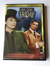 His Girl Friday (DVD, 1940) Cary Grant, Rosalind Russell, Ralph Bellamy