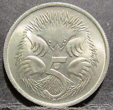 1966 Australia 5c Five Cents FROM MINT SET #RB1705-93 6615/6/7/8 4000