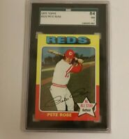 1975 Topps PETE ROSE #320 SGC 7 NM  Cincinnati Reds