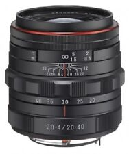 Pentax HD Da 20-40mm F2.8-4 Ed Limité Dc Wr Lentille Noir