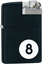 Zippo 28432 8 ball billiards Lighter with PIPE INSERT PL