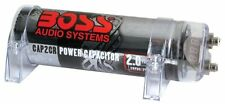 NEW BOSS AUDIO CPRD2 2 FARAD CAR STEREO CAPACITOR WITH DIGITAL VOLTAGE DISPLAY