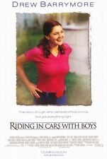 Riding In Cars With Boys movie poster - Drew Barrymore  - 11 x 17 inches