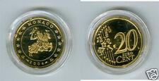 manueduc   MONACO  20  Céntimos   2004  PROOF DE ESTUCHE  Sin Circular  MUY RARO
