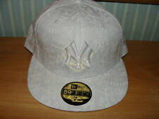 New York Yankees New Era Hat Tonality White Cap 7 1/2