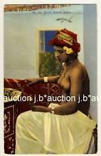 LEHNERT & LANDROCK: ARAB GIRL * Vintage Ethnic Nude PC