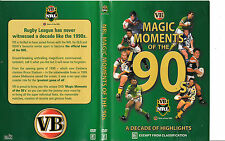NRL Magic Moments of The 90s-1990/1999-Rugby Australia NRL-DVD