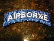 U.S.A. Airborne Tab. Cut Edge. No Glow.