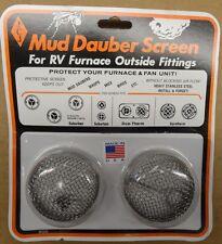 RV Suburban/DuoTherm Furnace Screen for Mud Dauber/Wasp, Screen Model # M300