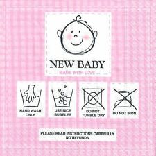 4 Single paper decoupage napkins. New baby girl, baby manual, cute design-120