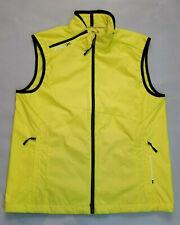 Rlx Ralph Lauren New Lemon Green Full Zip Activewear Vest Size M