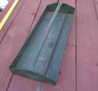 Used Metal Tool Tote Tray