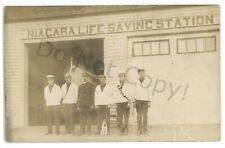 RPPC Niagara Lifesaving Station YOUNGSTOWN NY New York Real Photo Postcard