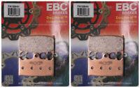 EBC Double-H Sintered Metal Brake Pads FA158HH (2 Packs - Enough for 2 Rotors)