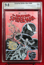 SPIDER-MAN PGX 9.8 NM/MT Near Mint/Mint Orignal Wraparound Cover by SANGALANG!!