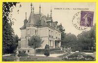 cpa Vue Rare 02 - TORCY (Seine et Marne) Les CHARMETTES Château