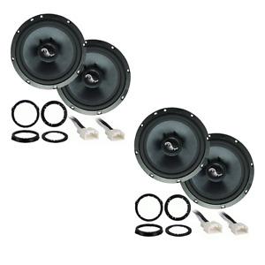 Ford Fusion 2013-2019 Premium Speaker Upgrade Package Harmony C65 Speakers New