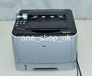 Ricoh Aficio SP 3510DN Mono Network Laser Printer 30PPM Low Page Count at 6k