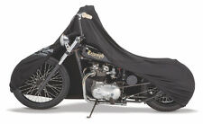 Custom Stretch Fit Up to 10' Chopper BLACK Customweave Form Fit Motorcycle Cover