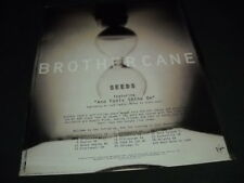 BROTHER CANE July 7-28, 1995 SEEDS Tour Dates PROMO POSTER AD mint condition