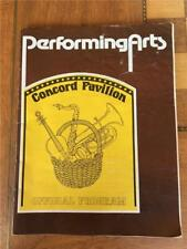PERFORMING ARTS Concord Pavilion Official Program LIZA August 1977 Kristofferson