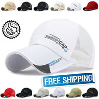 New Quick Dry Waterproof Sport Duck Tongue Sun Hat Outdoor Space Baseball Cap