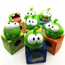 7Pcs/lot Rope Frog Vinyl Rubber Android Games Doll Cut The Rope OM NOM Candy Gul