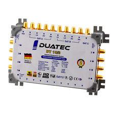 Duatec Multischalter 9/8 Switch FULL HD 3D 4K UHD 8 Teilnehmer SAT Verteiler