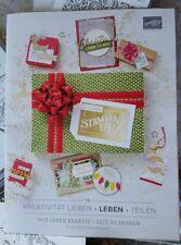 Stampin Up! Herbst-/Winterkatalog 2018 Incl 2,50 Euro Gutschein