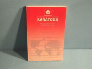 90 1990 Chrysler Saratoga owners manual