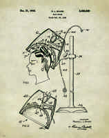 Chiropractic Patent Poster Art Print Vintage Adjusting Table Office Wall Decor