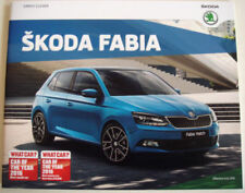 Skoda 2016 Sales Car Brochures