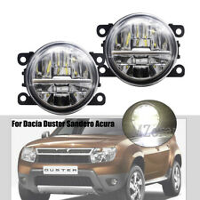 LED Fog Light Lamp For Dacia Duster Sandero LOGAN DRL Lamp Replacemence w/ Bulbs