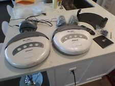 TWO iRobot Roomba Discovery robotic floor vacuum cleaners 4210 - New Battery