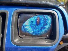 "Headlight covers 5""X7"" Jeep Cherokee XJ BLUE Eyes ""ORIGINAL RUKINDCOVERS"""