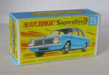 Repro Box Matchbox Superfast Nr.25 Ford Cortina GT