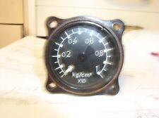 Druckmesser 0-10 Kg/cm 2 Luftwaffe WK II Fl Nr: 20 504-10 sehr selten!!