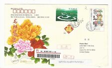 China: Postal stationery with stamp of 800 type year new. CI31