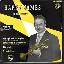 EP JAZZ--HARRY JAMES E LA SUA ORCHESTRA--THE HIGH AND THE MIGHTY
