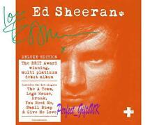 Ed Sheeran + Album Artwork SIGNED AUTOGRAPHED 10X8 PRE-PRINT PHOTO
