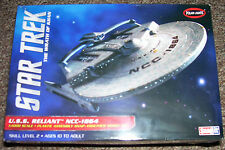 STAR TREK USS RELIANT NCC-1864 1/1000 SCALE PLASTIC SNAP MODEL KIT WRATH of KAHN