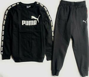 Puma Boy's 2 pcs Set Sweatshirt and Jogger Pants (Ages 8-18 Years )