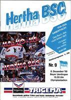BL 90/91 Hertha BSC Berlin - Bayer Uerdingen, 08.12.1990