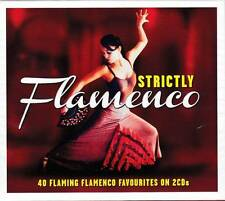 STRICTLY FLAMENCO - 40  FLAMING FLAMENCO FAVOURITES  (NEW SEALED 2CD)