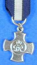 BRITISH DISTINGUISHED SERVICE CROSS SILVER MINIATURE N0054