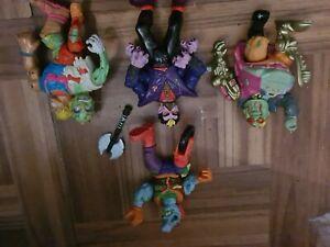 1991 Playmates Toxic Crusaders Action Figure Bundle, Combine postage!