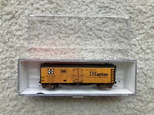 N Scale AT&SF Santa Fe Ice Reefer by InterMountain